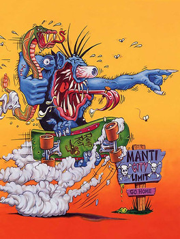 Manti City Rat Fink Art
