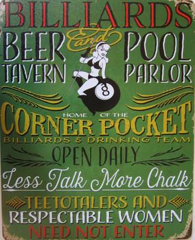Billards-Beer Tavern-Pool Parlor