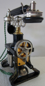 L.M. Ericsson Telephone Model Replica 1895