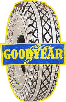 Good Year Tires Plasma Cut Sign