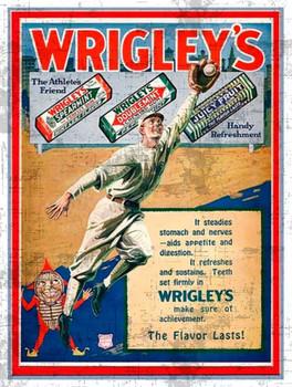 Wrigley's Gum Metal Sign
