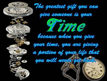 Time is a Gift