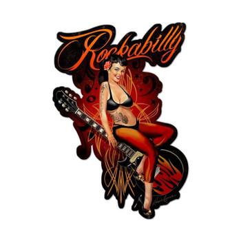 Rockabilly Pin Up with Guitar