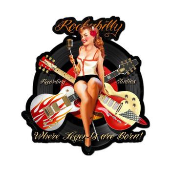 Rockabilly recording Studio