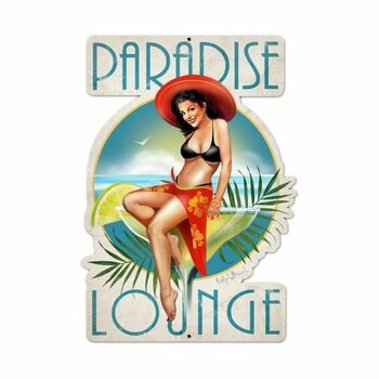Paradise Lounge Pin Up
