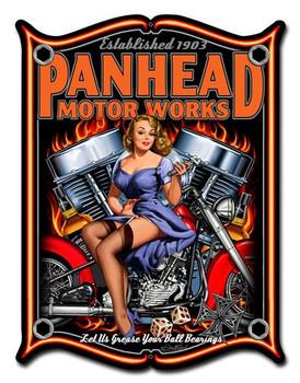 Panhead Motor words