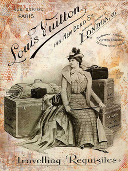 Louis Vuitton Luggage Advertisement