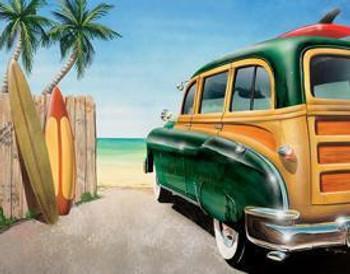 Beach / Woody Canvas