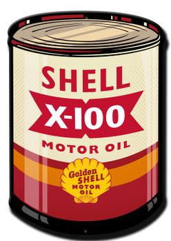 X-100 Shell Motor Oil