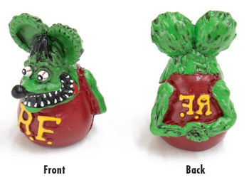 Rat Fink Air Valve Caps Green