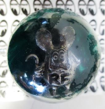 Rat Fink Shift Knob - Black &  Green