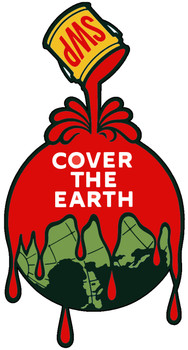 Sherwin- Williams Paint SWP Cover the Earth - Red Paint