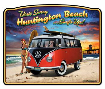 Visit Sunny Huntington Beach Surfs Up