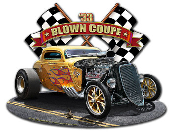 1933 Blown Coupe