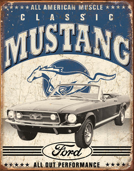 Classic Mustang Weathered