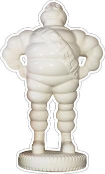 Michelin Tire Man Plasma Cut Metal Sign