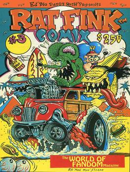 Rat Fink Comix #3