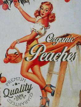 Organic Pin Up Peaches