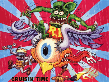 Cruisin' Time Rat Fink and Eyeball