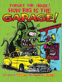 Forget the House Rat Fink and Eyeball