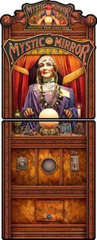 Mystic Mirror Fortune Teller by Michael Fishel 2 Part Panel Plasma Cut Sign