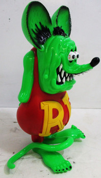 Rat Fink Figure ( hard plastic Japan ) by Big Daddy Ed Roth