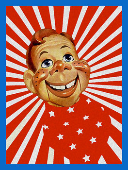 Howdy Doody Metal Sign