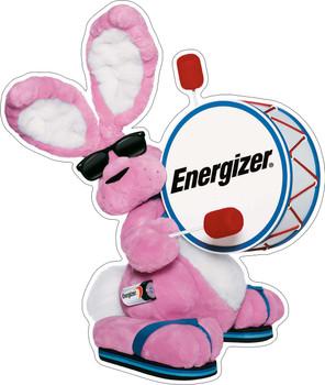 Energizer Bunny Plasma Cut Metal Sign
