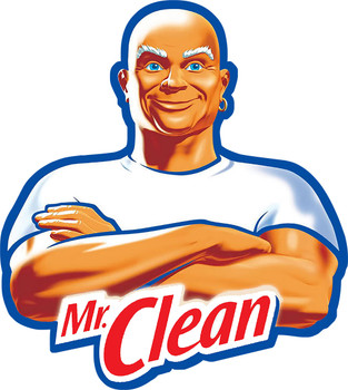 Mr. Clean Plasma Cut Metal Sign