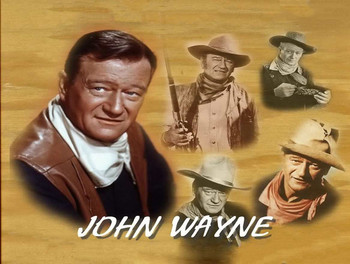 John Wayne Character Faces Quote Metal Sign