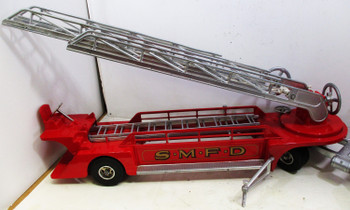 Smith-Miller S.M.F.D. Hook & Ladder Truck Circa 1950's Restored