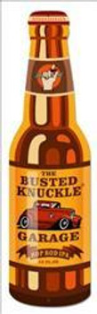 """Busted Knuckle Bottle (26"""" by 8"""" Plasma Cust Metal Sign)"""