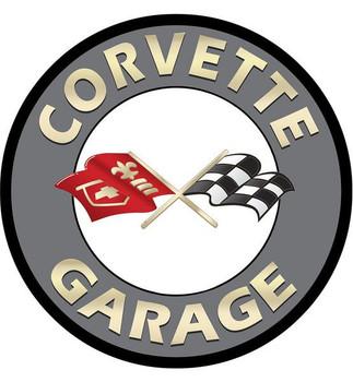 """Corvette Garage 18"""" disk"""