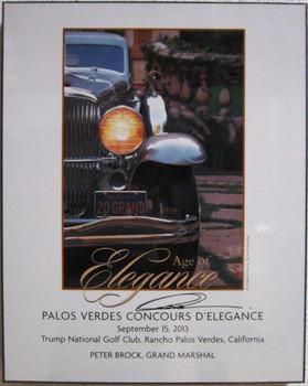 Palo Verdes Concours D'Elegance Sept 2013