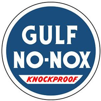 "Gulf No-Nox Gasoline 12"" disc"