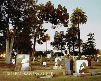 Graveyard Spirits Metal Sign