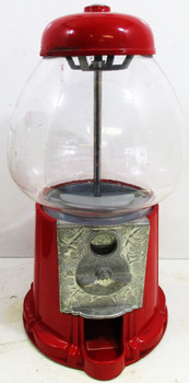 "Carousel Candy / Gum Dispenser 14"" tall by 9"" diameter"