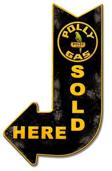 Polly Gas Sold Here Arrow