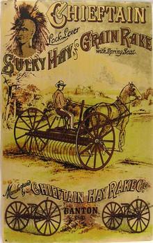 Chieftain Sulky Hay and Grain Rake