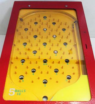 One Cent Skill Ball Table Trade Simulator Circa 1950's