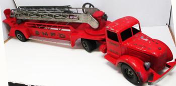 Smith-Miller S.M.F.D. Hook & Ladder NO.3 Truck Circa 1950's Original