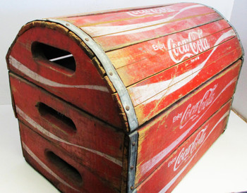 COCA-COLA Wooden Case / Crate / Box
