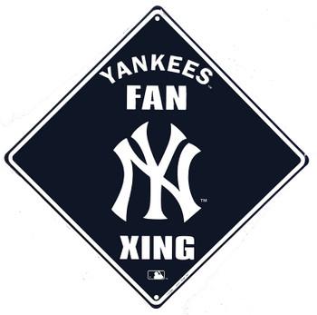 Yankees Fan Crossing