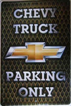 Chevy Trucks Parking Only