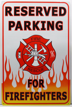 Reserved Parking for Fire Fighters