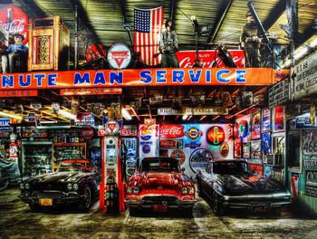 Minute Man Garage by Kramer Junction