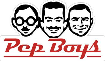 The Pep Boys Plasma Cut Metal Sign