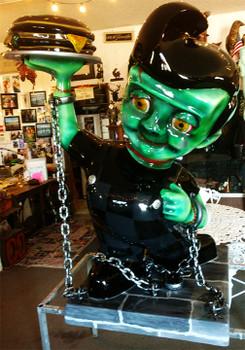 Bob's Big Boy / Frankenstein Custom Figure Frank'n Bob
