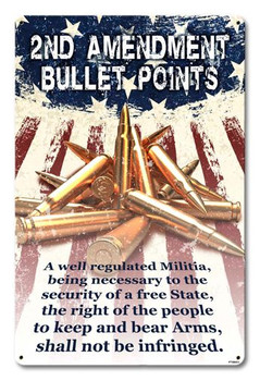 2nd Amendment Bullet Points