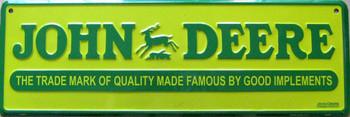 John Deere-Trade Mark Quality